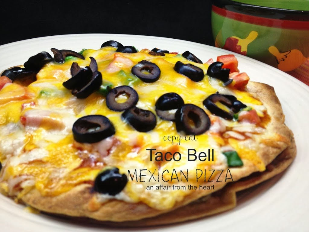 copy cat taco bell mexican pizzas