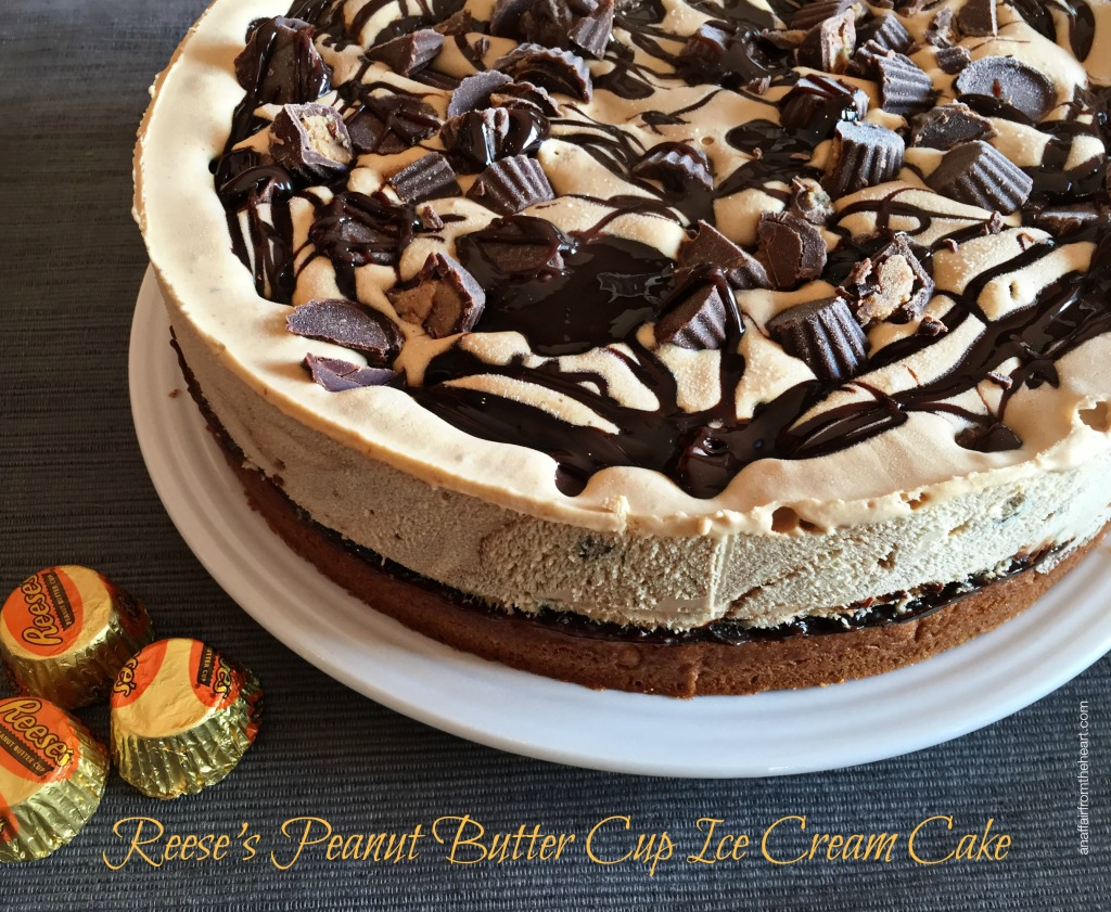 reese s ice cream cake the ultimate chocolate layered reeses peanut butter cup 7050