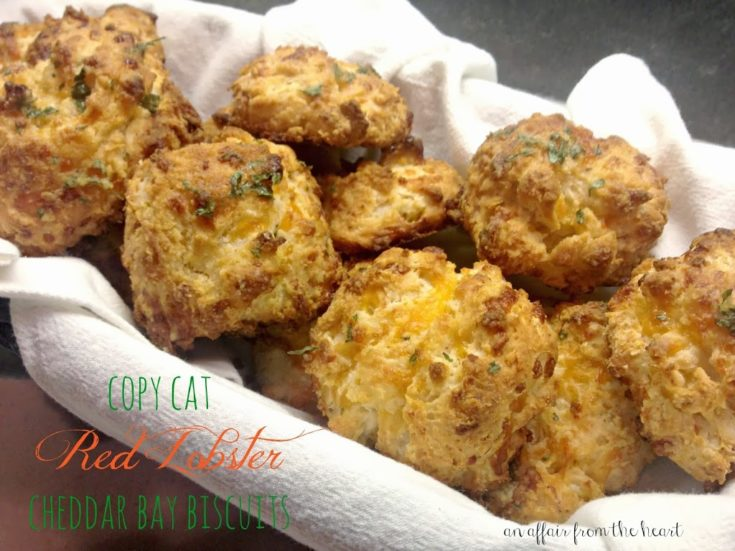 Copy Cat - Red Lobster Cheddar Bay Biscuits