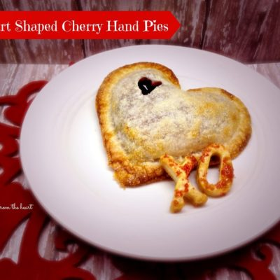 Cherry {Heart Shaped} Hand-Pies