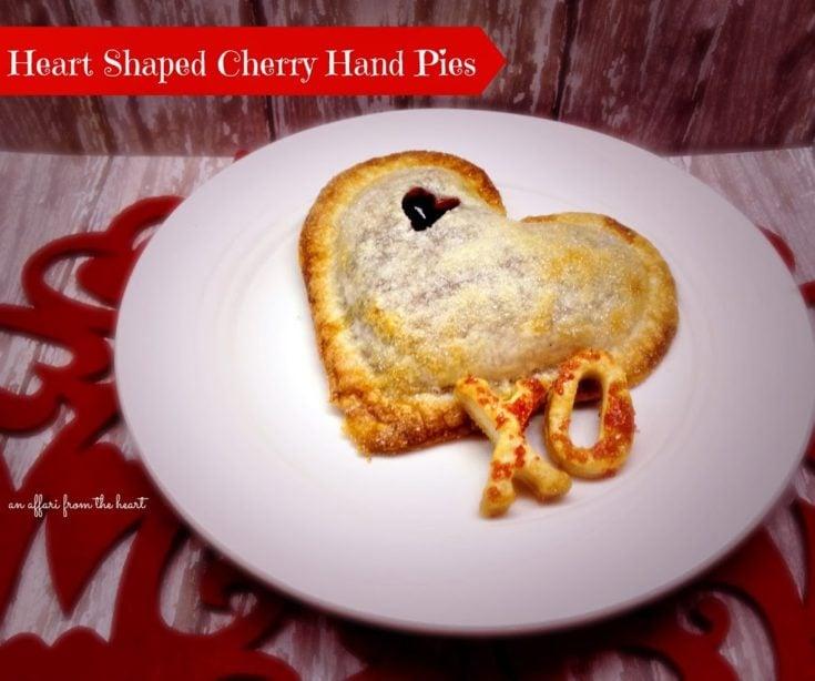 Cherry {Heart Shaped} Hand-Pies