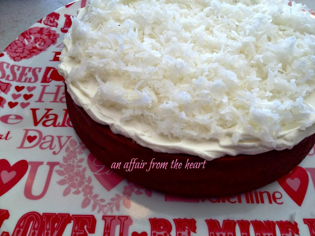 coconut cream poke cake with coconut cream frosting