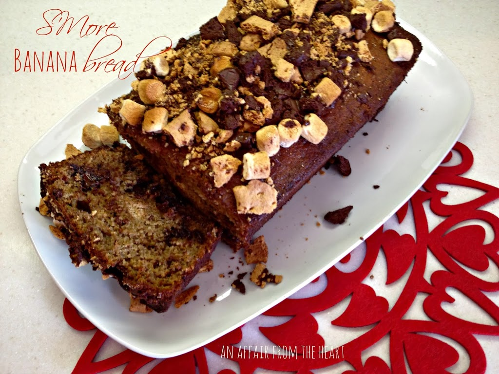 S'More Banana Bread – made with Kahlua Caramelized Bananas ...