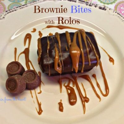 Brownie Bites with Rolos