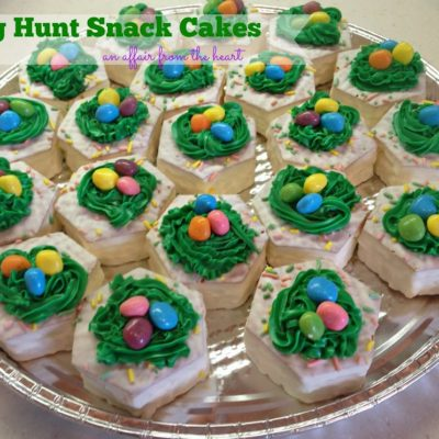 Egg Hunt Snack Cakes