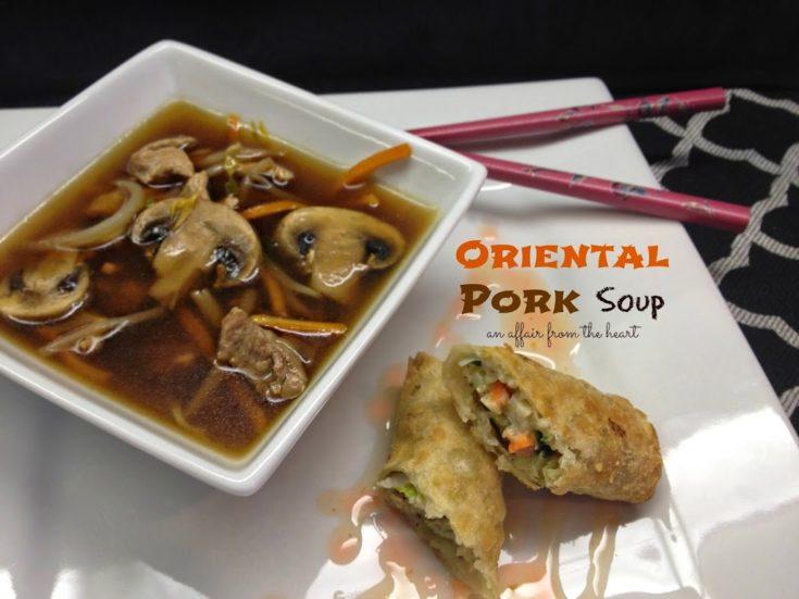 Oriental Pork Soup