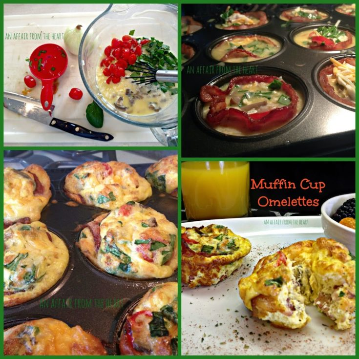 Muffin Cup Omelettes