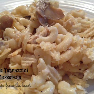 Tuna Tetrazzini Casserole