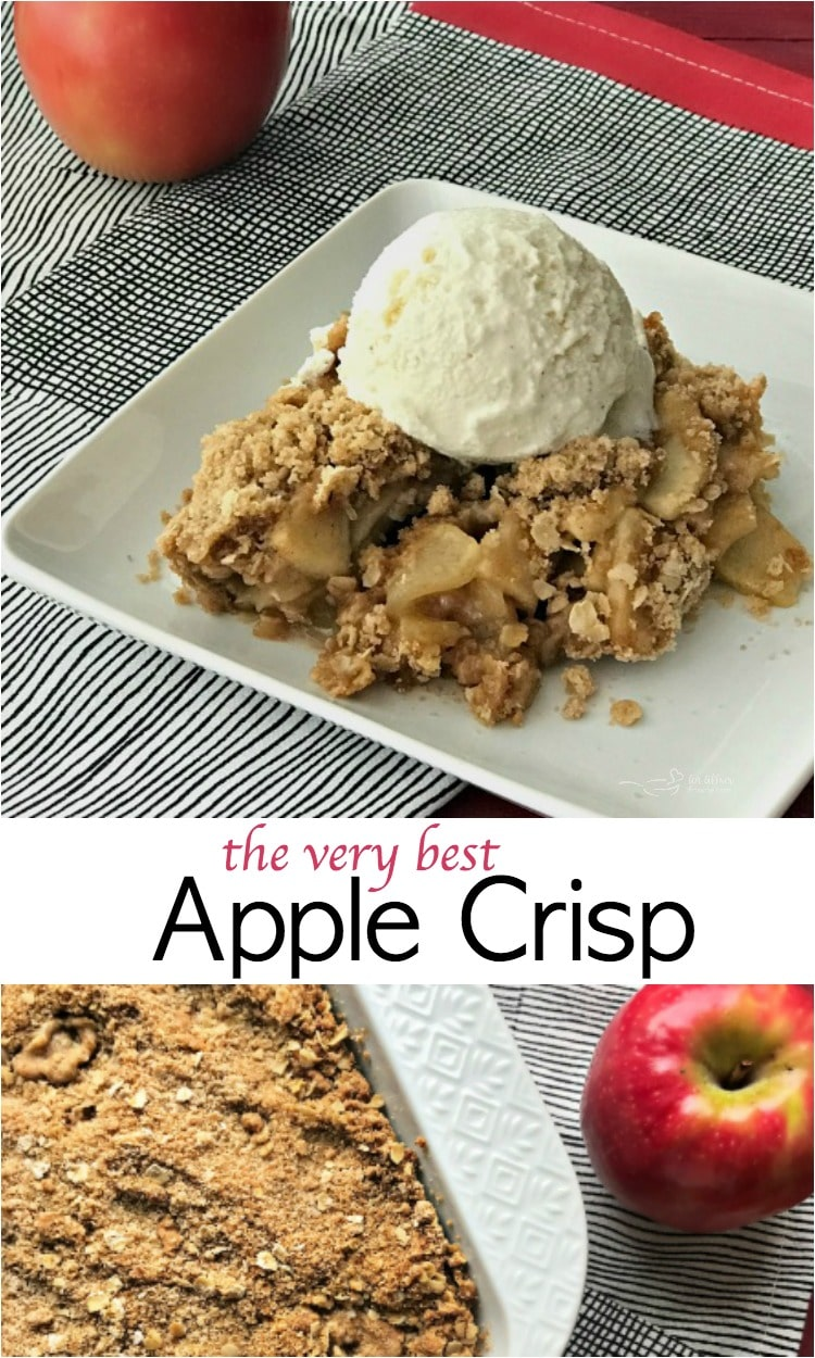 The Very BEST Apple Crisp - An Affair from the Heart