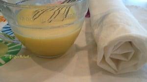 banana cream jelly roll prep