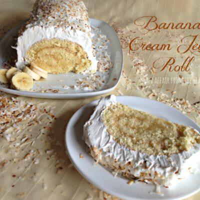 Banana Cream Jelly Roll