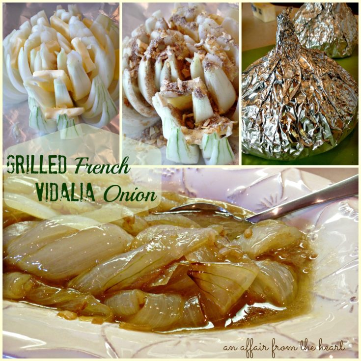 Grilled French Vidalia Onions
