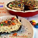 Peanut M&M Peanut Butter Pie