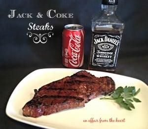 Jack & Coke Steaks