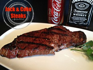 Jack & Coke Steaks