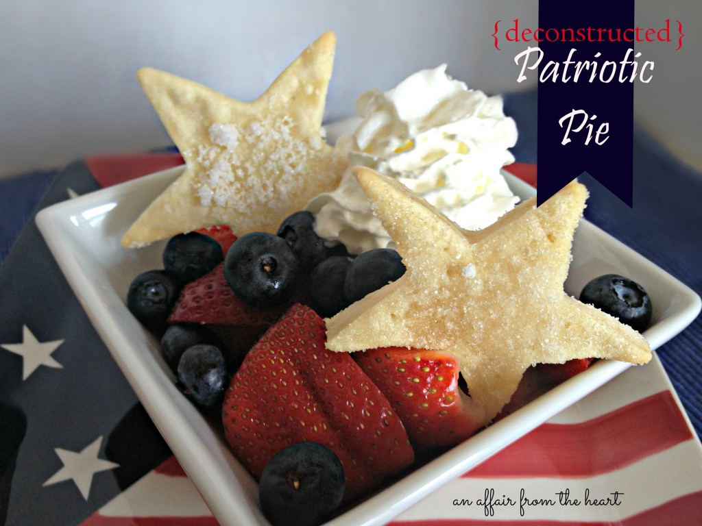 deconstructed patriotic pie
