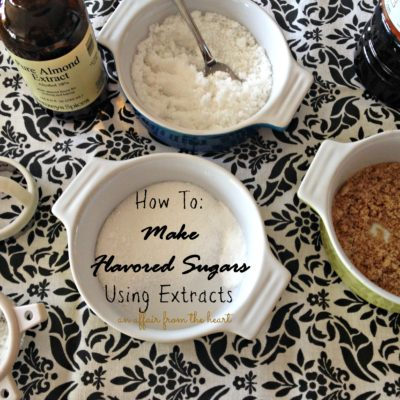 How To: Make Flavored Sugars Using Extracts