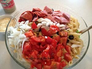 pasta salad prep1