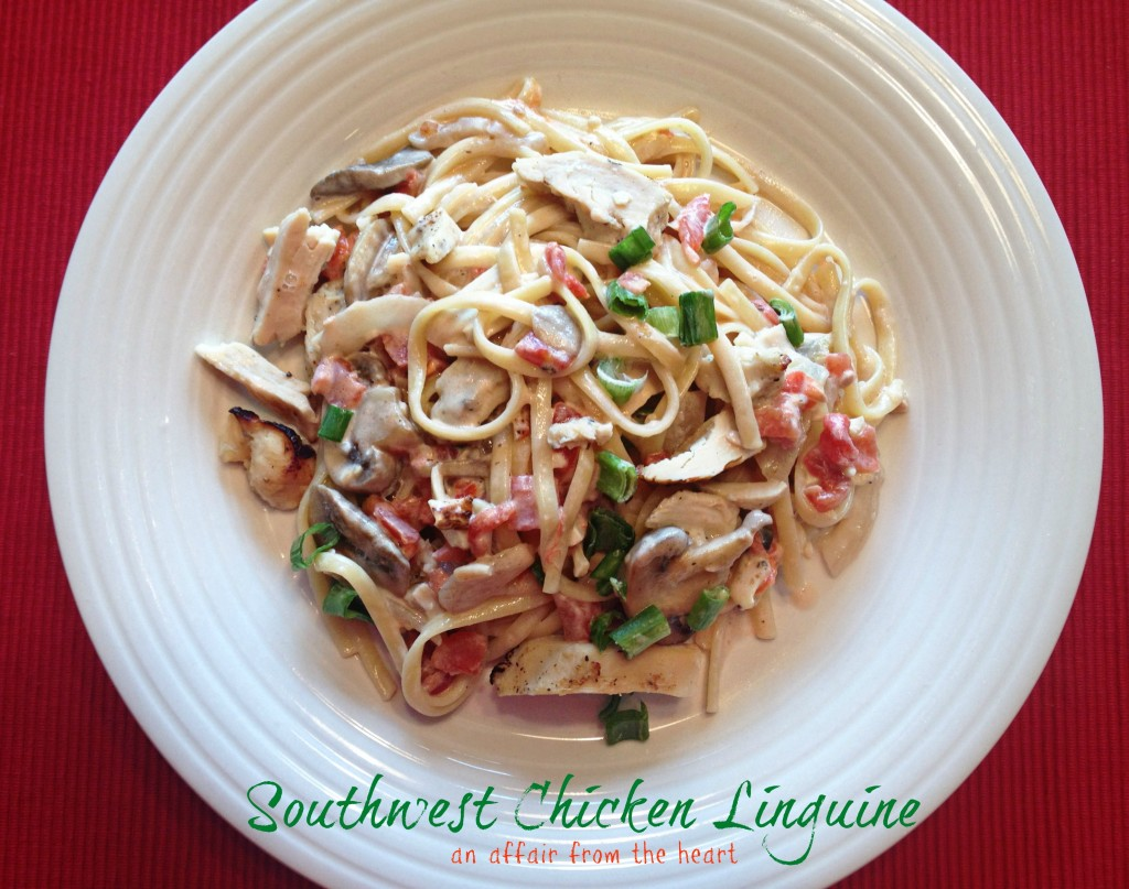 southwest chicken linguine1