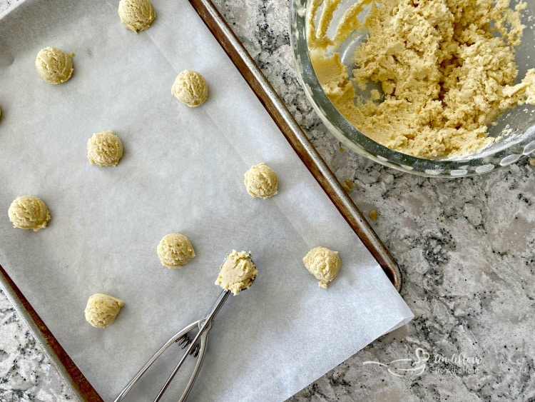 lemon cookies prepare