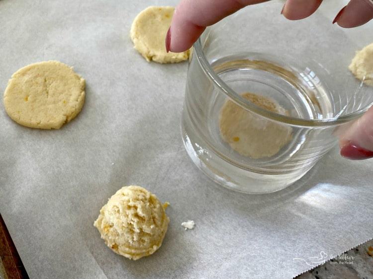 lemon cookies prep