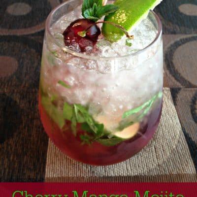 Cherry-Mango Mojito