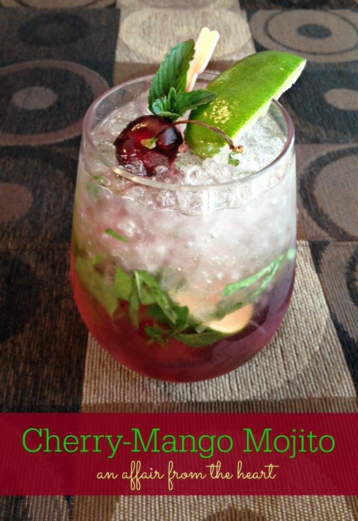 cherry mango mojito