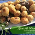 garlic & rosemary heirloom potatoes