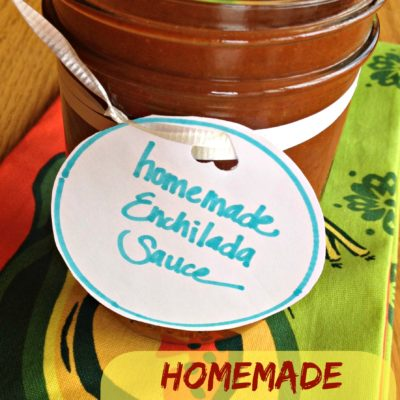 How To: Make Your Own Homemade Red Enchilada Sauce