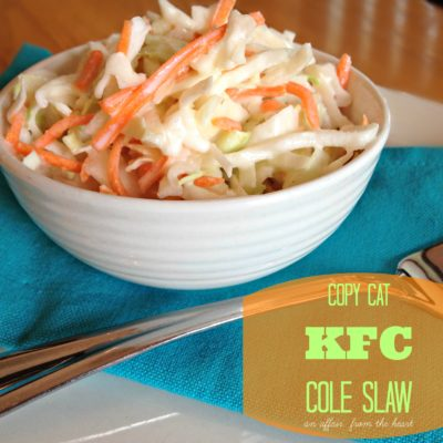 Copy Cat: KFC Coleslaw