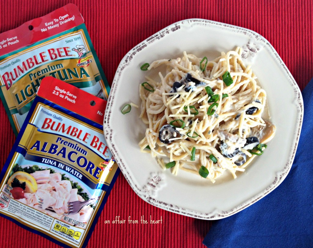 Bumble Bee Tuna Chicken Spaghetti #BumbleBeeB2S