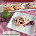 Cherry Limeade Sweet Rolls