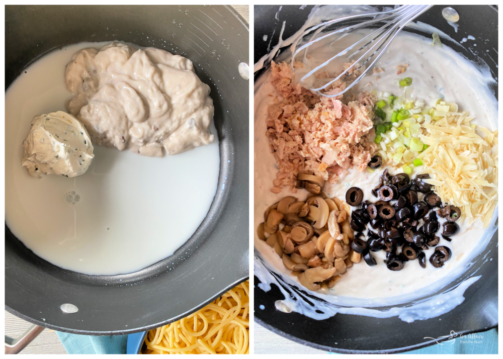 tuna spaghetti ingredients and instructions