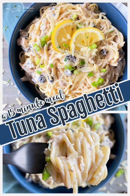 graphic for tuna spaghetti