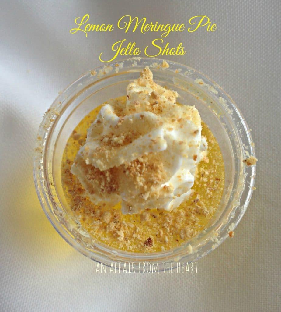 lemon meringue pie jello shots