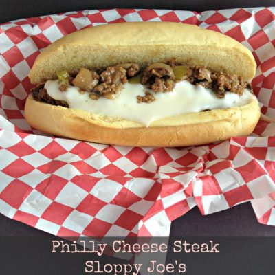 Philly Cheese Steak Sloppy Joe's