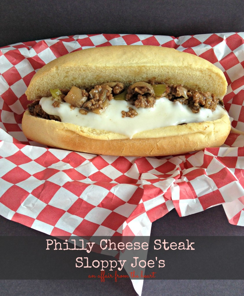 philly cheese steak sloppy joe's