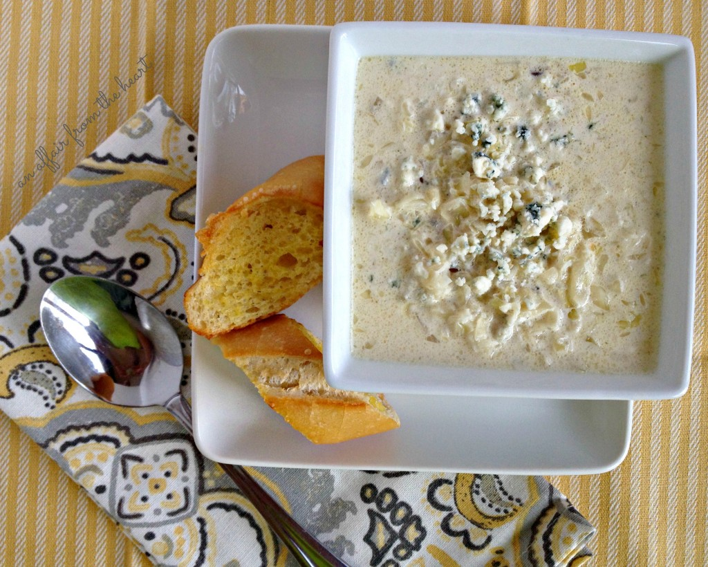Cabbage & bleu Cheese Soup