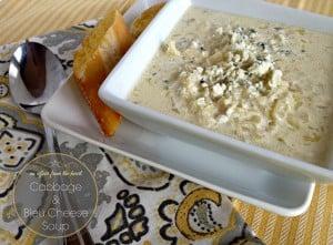 cabbage & Bleu Cheese Soup
