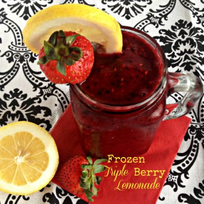 Frozen Triple Berry Lemonade