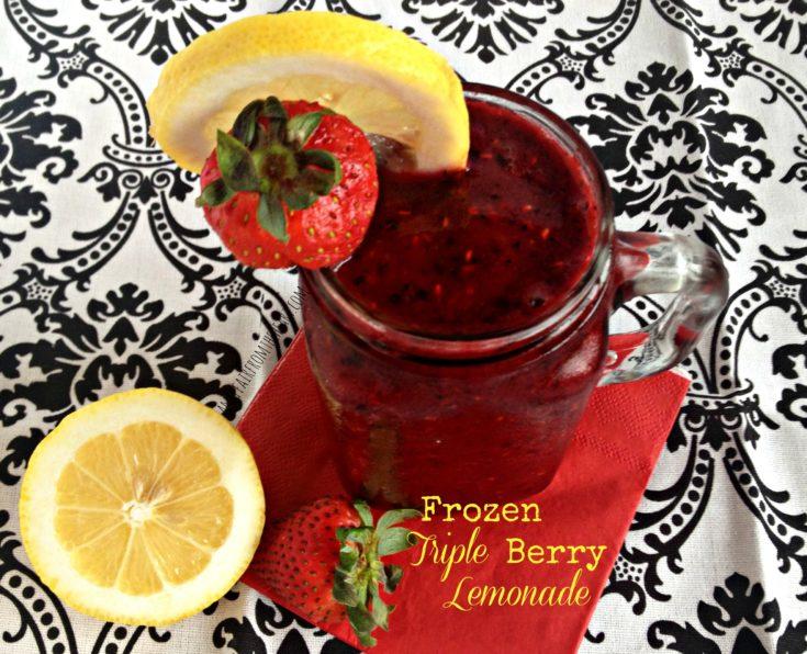 Frozen Triple Berry Lemonade