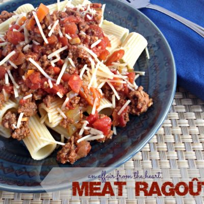 Meat Ragout