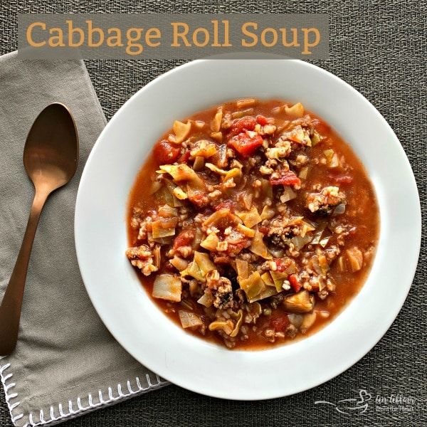 Cabbage Roll Soup - An Affair from the Heart