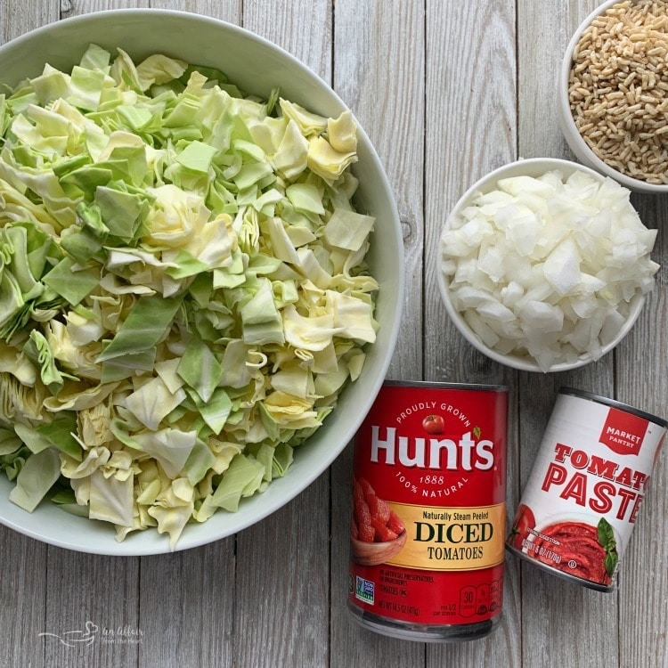 One Pot Cabbage Roll Soup