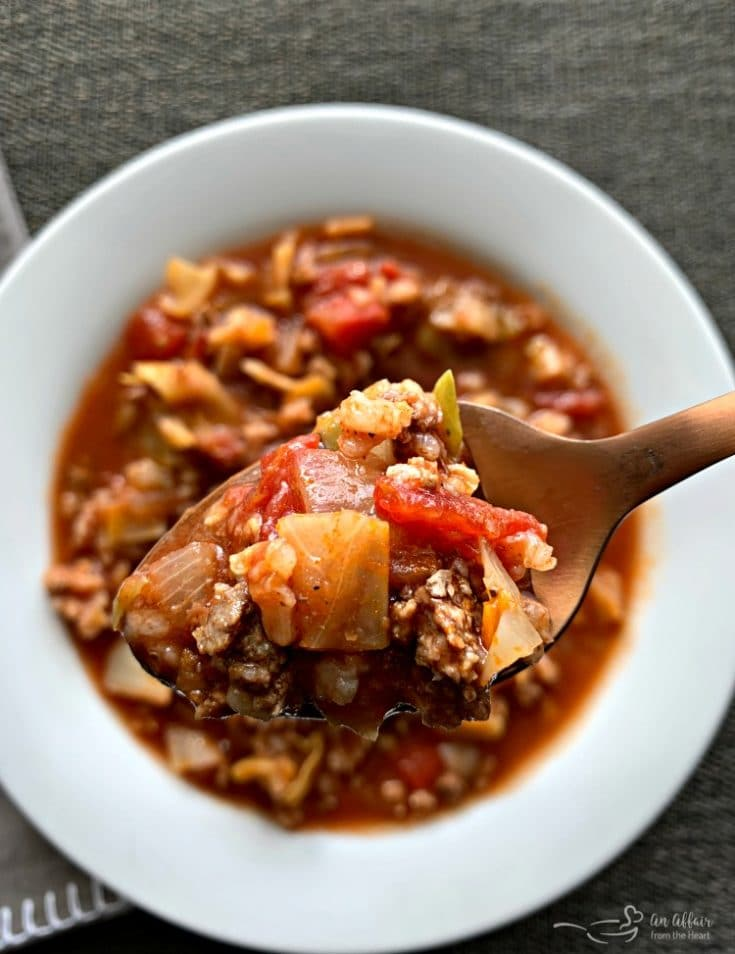 Cabbage Roll Soup - + Crock Pot Instructions