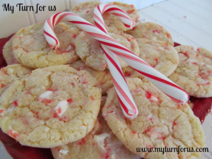 Candy Cane Cookies - My Turn For Us
