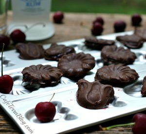 Cherry Rum Chocolate Candies - Cafe Terra Blog