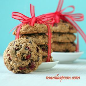 Cranberry Choco Chip Cookies - Manilla Spoon