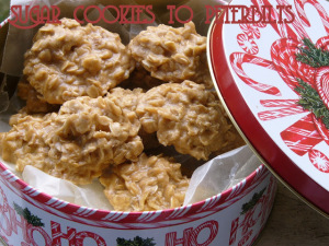 No Bake Biscoff Cookies - Big Rigs and Lil Cookies
