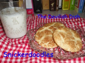 Snickerdoodles - The Devilish Dish